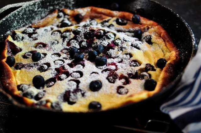 Blueberrt Dutch Pancake