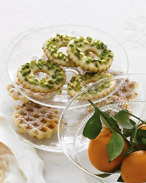 Pistachio Lemon Wreaths
