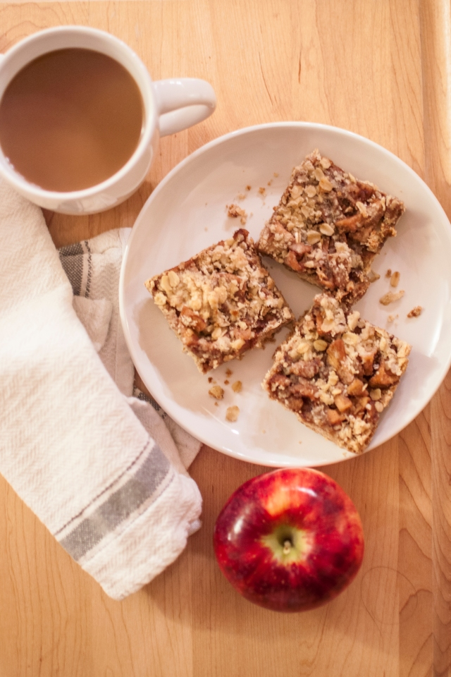 apple crumb bar
