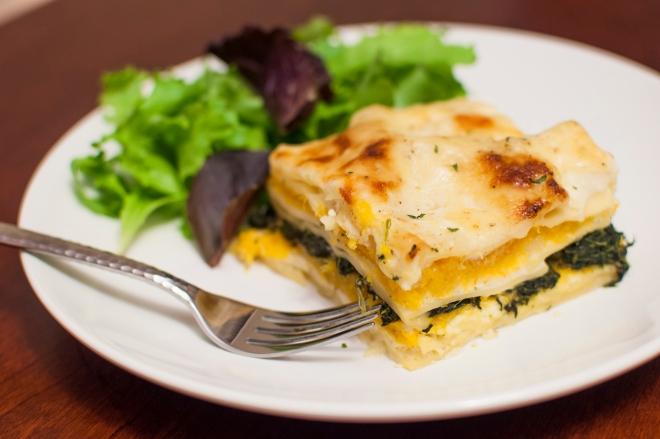 squash lasagna